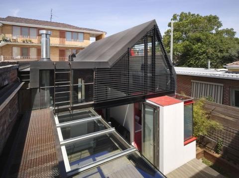 Дом Вадера (Vader House) архитектора Эндрю Мэйнарда (Andrew Maynard) в Мельбурне, Австралия