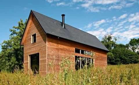 Домик в Онфлере (Honfleur), Франция, Lode Architects