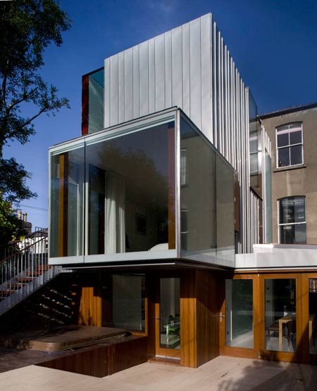 Matilde House в Дублине, Ailtireacht Architects