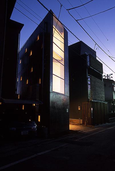 Городской дом в Токио (House_Uc), Токио, Япония, архитектурное бюро Miyahara
