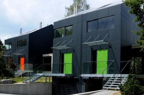 Комплекс жилых домов (Krakowski Zau?ek Onyx) архитекторов Агнешки Шультк и Петра Навара в Кракове