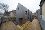 Бетонный дом (Slit House) архитектора Чжанг Лея (Zhang Lei)