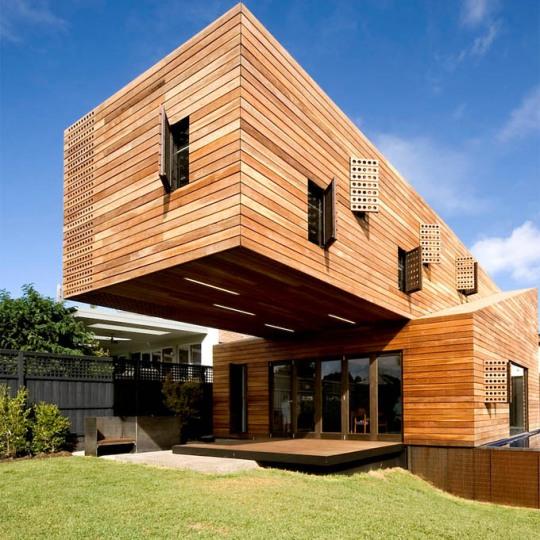 Дом-»троян» (Trojan House) в Мельбурне jackson clements burrows architects