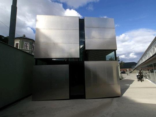 Дом-коробка (Boxhome) в Осло от Rintala Eggertsson Architects