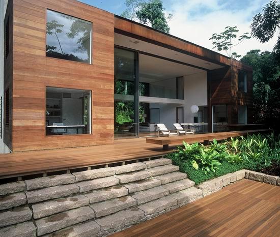 Дом в Ипоранга (Casa en Iporanga) в Бразилии архитектора Артура Касаса