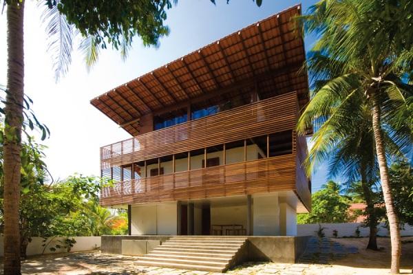 Тропический дом (Casa Tropical) португальских архитекторов из Camarim на севере Бразилии