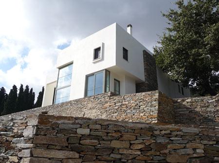 Загородный дом (Summer house) архитекторов KLab architects в Греции