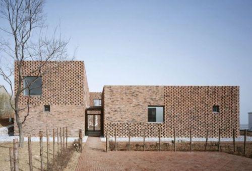 Кирпичный дом (Brick House) в Наньцзине от Atelier Zhang Lei