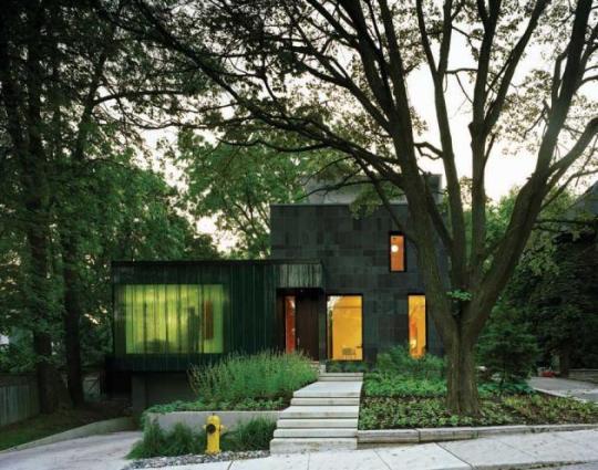 Каскадный Дом (Cascade House) в Торонто от Paul Paff Studio