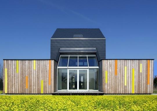 Дом «CO2 Saver» архитектора Петра Кучи (Piotr Kuczia) в Польше