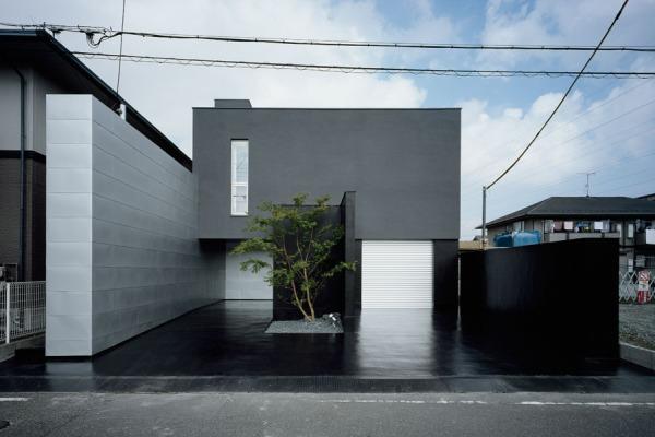 Дом Глубины (House of Depth) в городе Шига архитектора Коуичи Кимура (Kouichi Kimura)