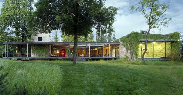 Jodlowa House в Кракове, PCKO Architects в сотрудничестве с MOFO Architects