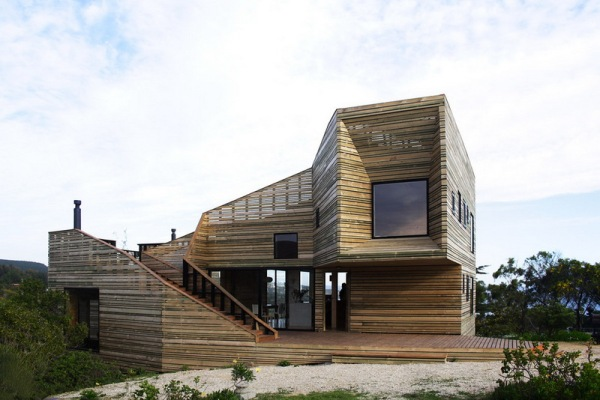 Дом-метаморфоза-1 (Metamorfosis-1) в Чили архитекторов Jos? Ulloa Davet и Delphine Ding