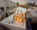 Дом-веко (The Eyelid House) в Мельбурне от Fiona Winzar Architects
