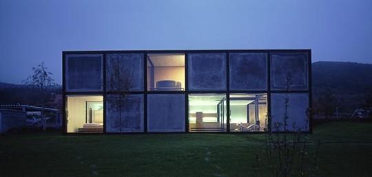 Вилла в Бероуне (Villa in Beroun) в Чехии от HSH architects