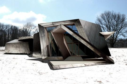 Дом 18.36.54 в США от Даниэля Либескинда (Daniel Libeskind)