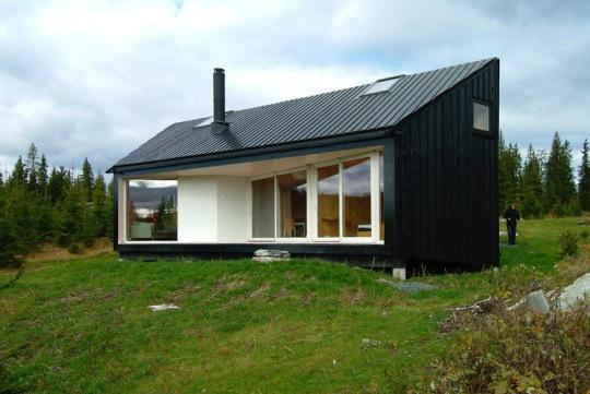 Домик в Нордмарке (Cabin Nordmarka) в Норвегии от Jarmund/Vigsn?s AS Architects MNAL