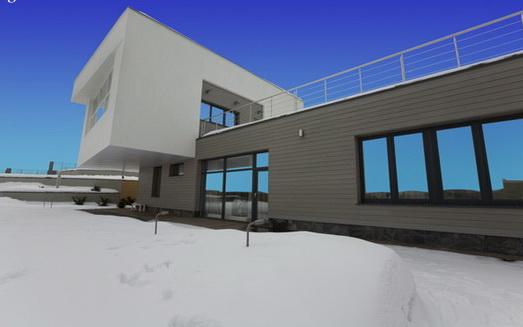 Дом 02 (House 02) в России от za bor architects