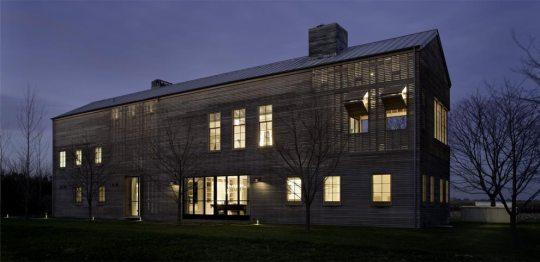 Дом на городской дороге (House on Town Line Road) в США от Leroy Street Studio