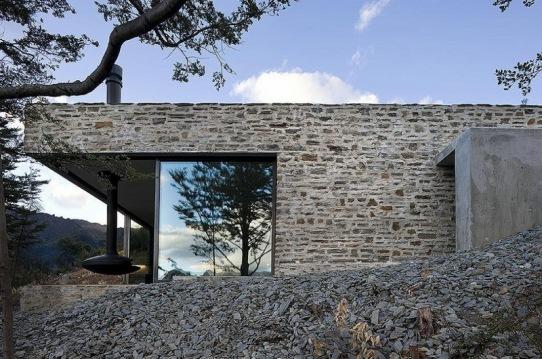 Горный приют (mountain retreat) в Новой Зеландии от Fearon Hay Architects
