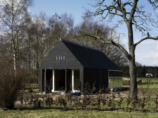 Pavilion Oeken в Голландии от FARO architecten bv