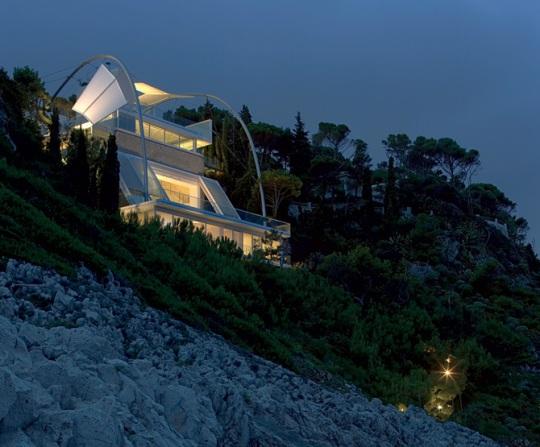 Вилла Клиффсайд (Cliffside Villa) от Нормана Фостера