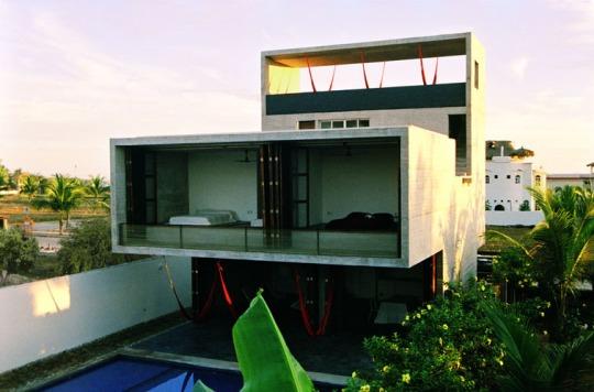 Дом TDA (TDA House) в Мексике от Eduardo Cadaval & Clara Sol?-Morales