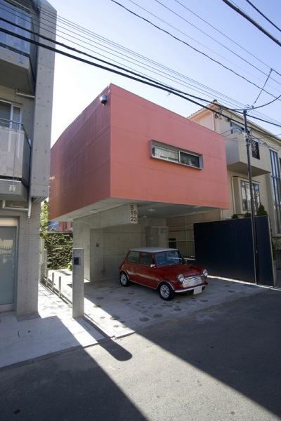 Дом Йойоги (Yoyogi House) в Токио от frontofficetokyo