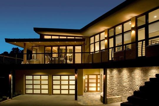 Резиденция в Милл Велли (The Mill Valley Residence) в Калифорнии от McGlashan Architecture