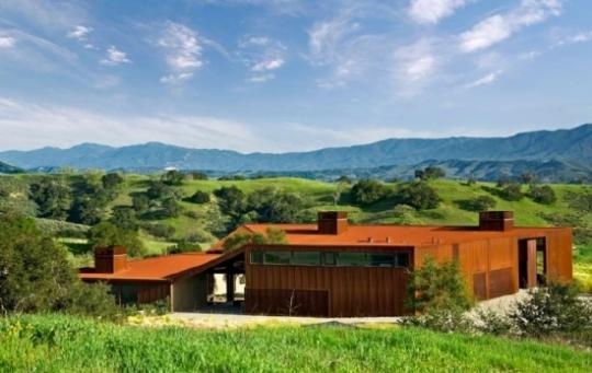 Резиденция в Santa Ynez (Santa Ynez Residence) в Калифорнии от Frederick Fisher and Partners
