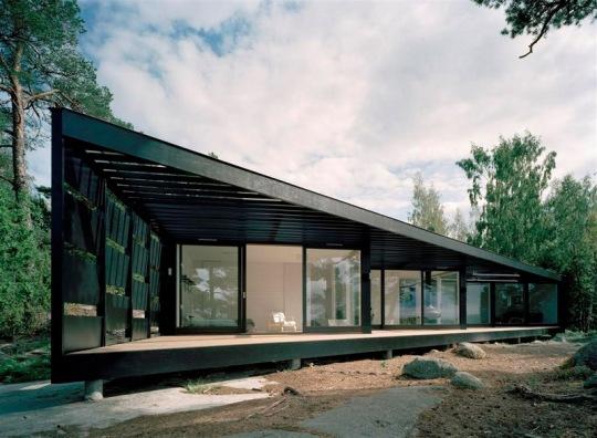 Дом на острове (Archipelago house) в Швеции от Tham & Videg?rd Hansson Arkitekter