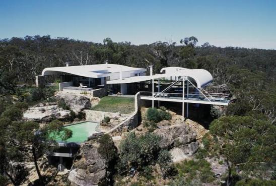 Дом семьи Берманов (Berman House) в Новом Южном Уэльсе от Гарри Сайдлера