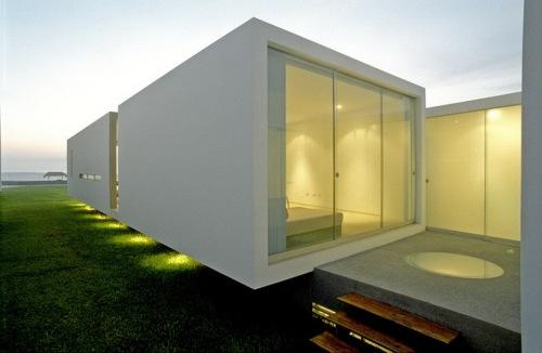 11 белых домов