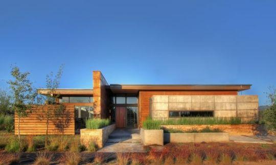 Garren-резиденция (Garren Residence) в Орегоне от PIQUE Architects
