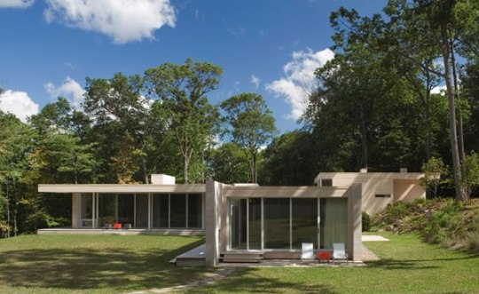 Holley House в Гаррисоне от Hanrahan Meyers Architects