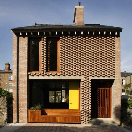 Дом Чаек (Mews House) в Дублине от TAKAarchitects