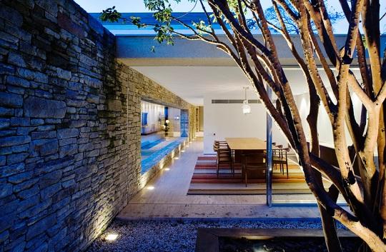 Mirindibas House в Бразилии от Марсио Когана