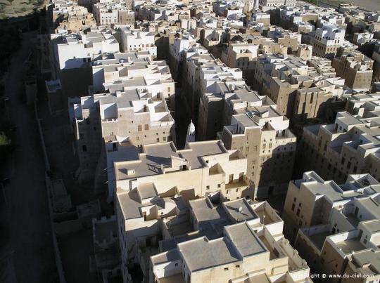 Частные небоскрёбы в йеменской пустыне