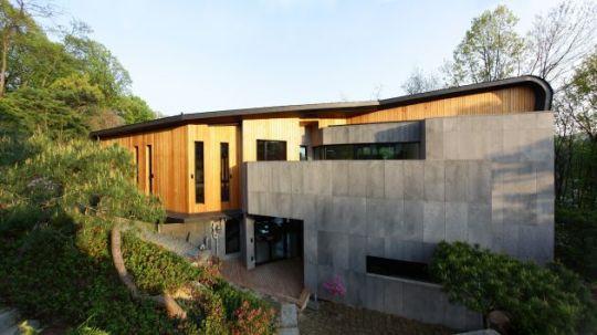 Z-дом (Z-house) в Южной Корее от Hohyun Park + Hyunjoo Kim