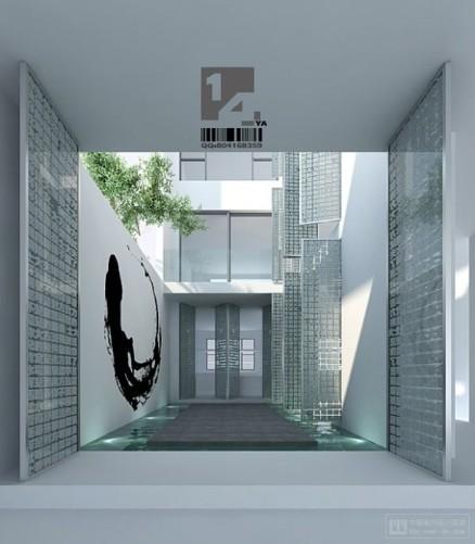 Дизайн современного китайского интерьера от 14 YA