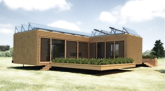 20 удивительных домов на солнечной энергии (20 Awesome Solar-Powered Homes)
