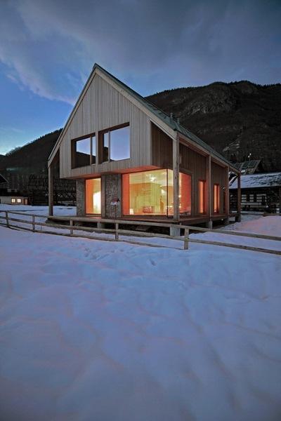 Альпийская хижина (6?11 Alpine hut) в Словении от OFIS arhitekti