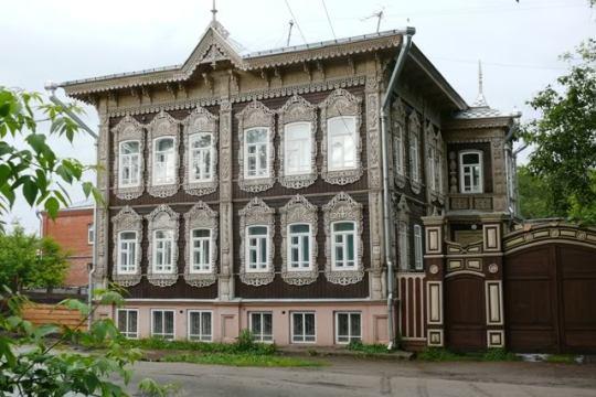 Деревянное зодчество Сибири 2