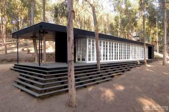 Дом дель Боске (Casa del Bosque) в Качагуа от F3 Arquitectos