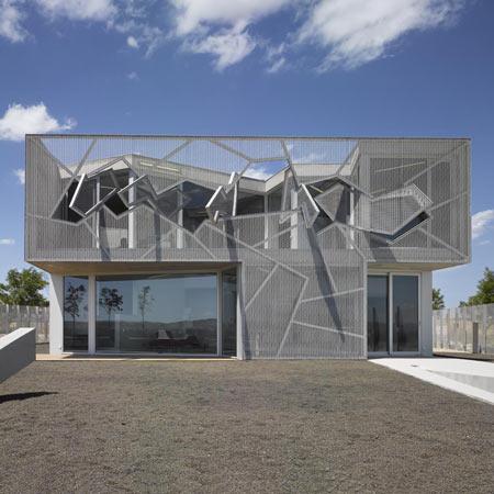 Casa Zafra в Испании от NO.MAD Arquitectos