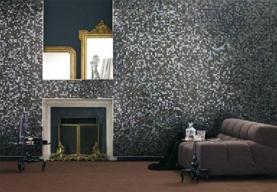 Стеклянная мозаика в интерьерах