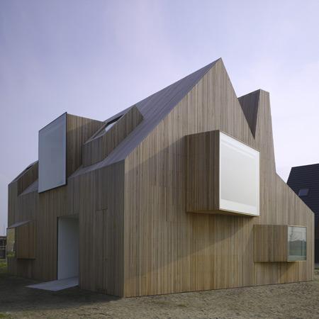 Дом Бирингс (House Bierings) в Утрехте (Голландия) от Rocha Tombal