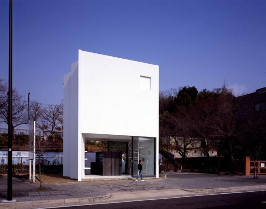 Дом в Нагое (House in Nagoya) в Японии от Suppose Design Office