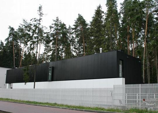 Дом на Николиной горе в Подмосковье от Владимира Плоткина