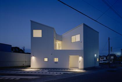 Дом О (House O) в Японии от Sinato